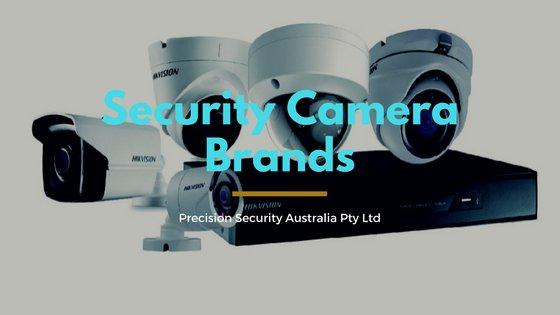 List Of Cctv Security Camera Brands Precision Security Australia Pty Ltd Security Cameras Melbourne