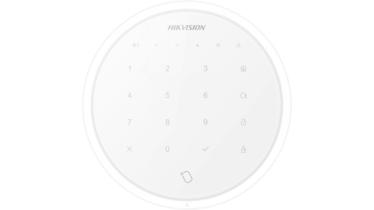 wireless keypad hikvision